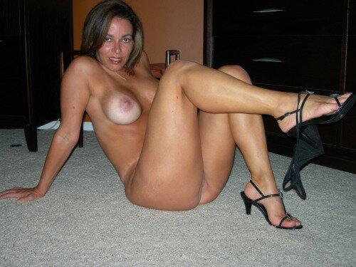 Сексуальная тетя Марина